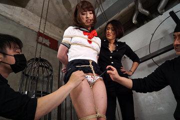 発狂絶頂オトコの娘 全身性感帯の美少女肉人形に改造されて 勃起しながらマ○...