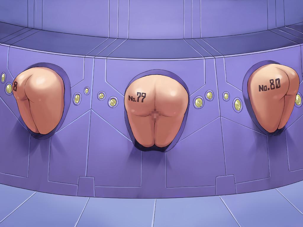【壁尻セックスwww】か べ の な か に い る ヒロイン達をレイプしまくる二次エロ画像www