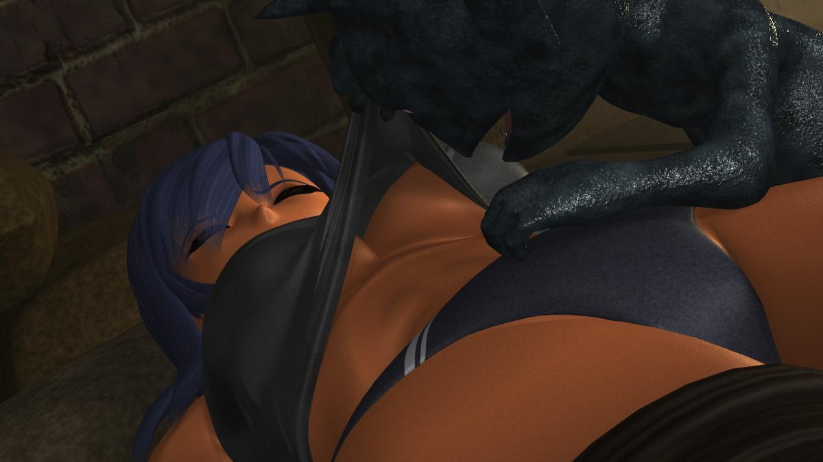 強気な女戦士がインプの催眠で寸止め地獄のクリ絶頂させられる!!!