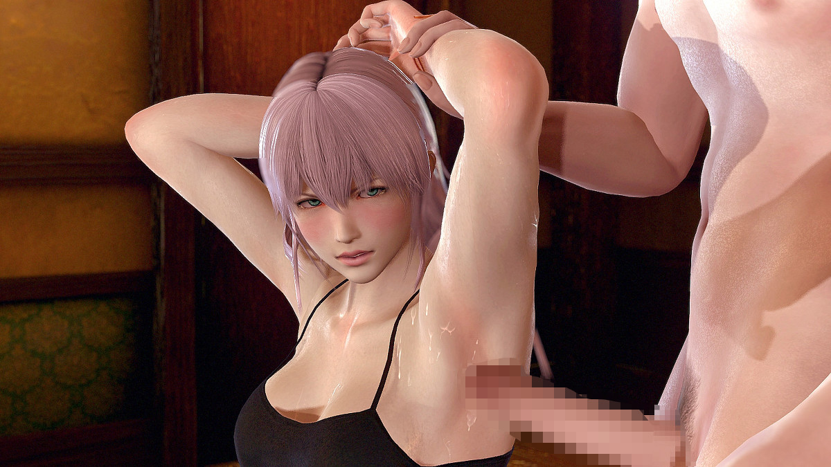 ヒロイン達の腋をマニアックに責めまくりたくなる画像www