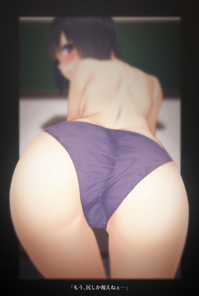 【お尻責めwww】アナルをガッツリ犯されちゃってる二次エロ画像www