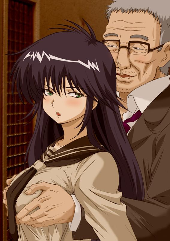 「フヒヒッ逆らえない立場の女の子をセクハラしまくるのは堪りませんなぁ・・・」っていうエロ画像www